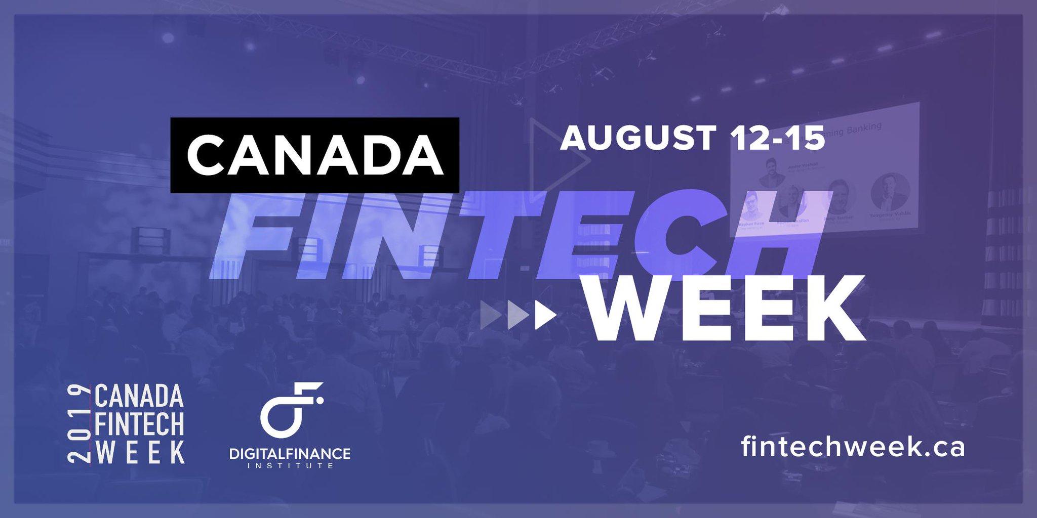 Inaugural Canada FinTech Week